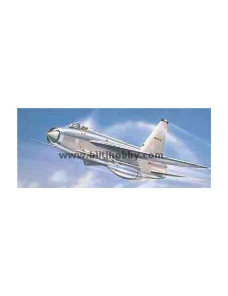 Avión Estático de Plástico, ENGLISH ELECTRIC LIGHTNING F3, escala 1/72  fabricante Airfix