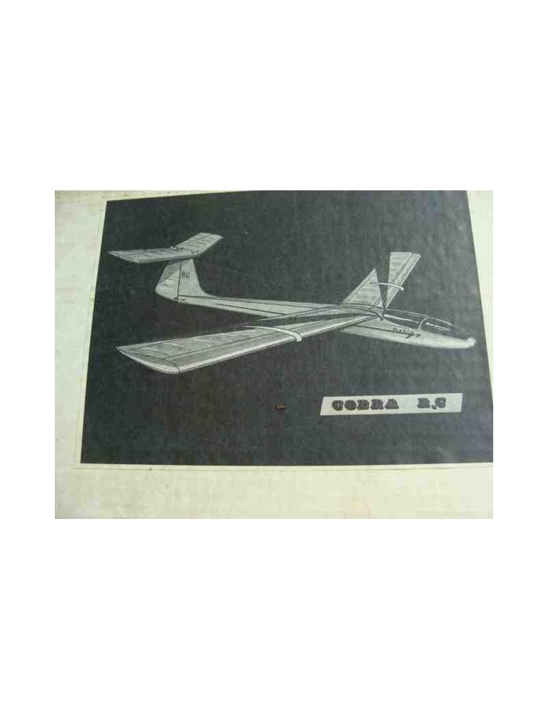 Kit para Montar Planeador COBRA 7 RC