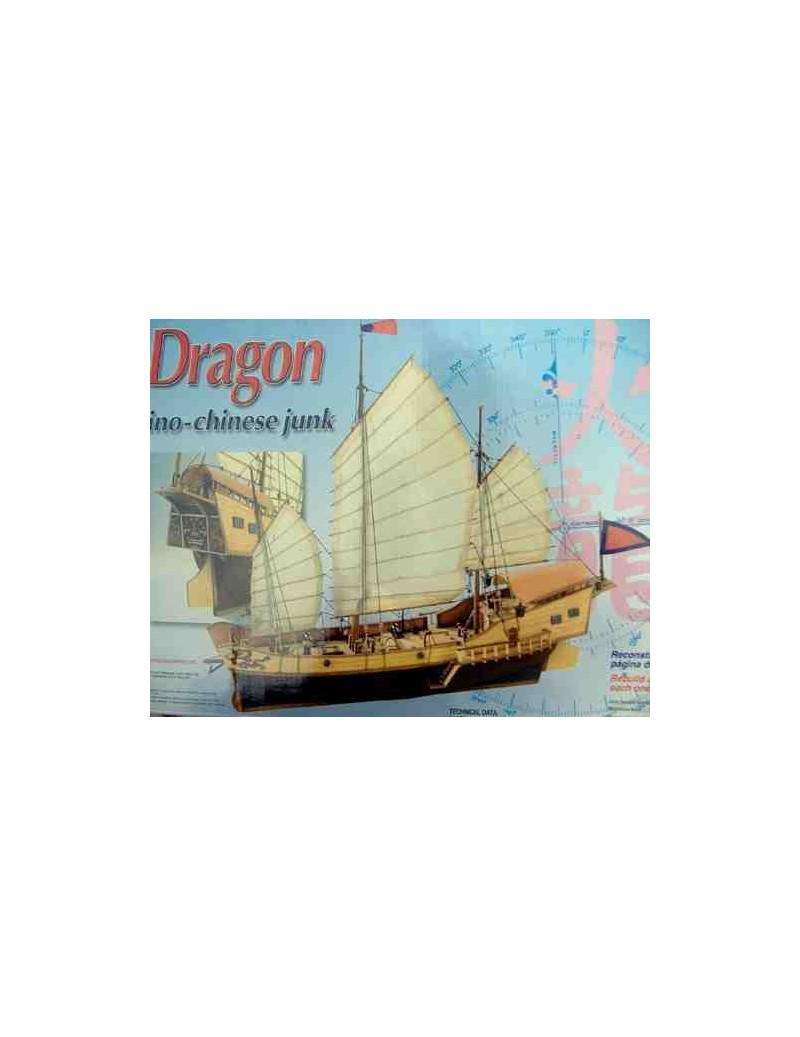 Barco Estático de Época en Madera, RED DRAGON, fabricante Artesanía Latina