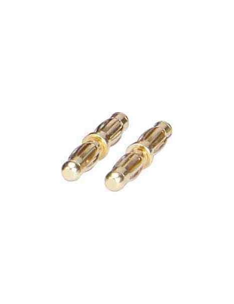Conector MACHO/Macho 4 mm (2 unidades)