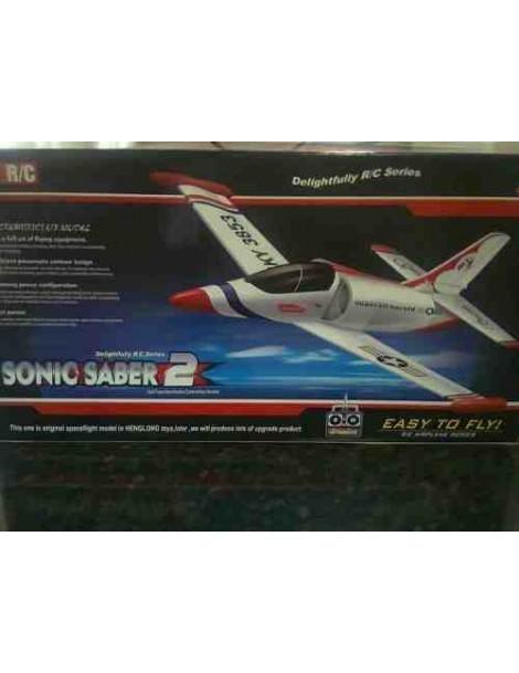 Avión Eléctrico SONIC SABER 2 completo