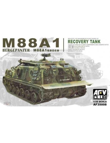 Tanque Estático de Plástico M88A1 , Escala 1/35 fabricante AFV Club