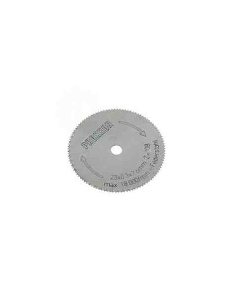DISCO CORTE MICRO CUTER, diámetro 23 mm