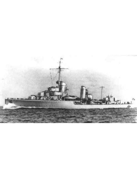 Planos Barco destructor Aleman Z 1/200