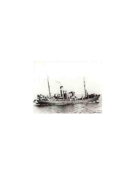 Planos Barco Pesquero a Vapor HOCHSEE , Escala 1/100