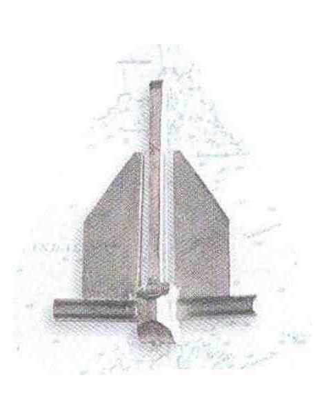 Ancla DANFORTH 35 x 27 (2 unidades)