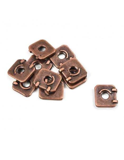Escotilla de Metal 11 x 12 mm (10 unidades)
