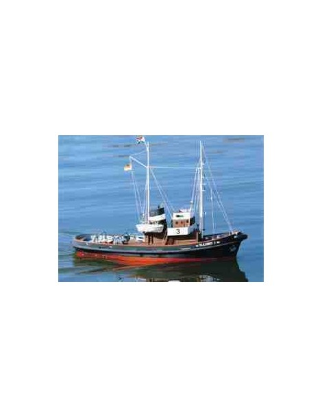 Barco Eléctrico BUGSIER 3, fabricante Graupner