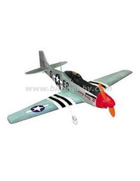 Avión Eléctrico P-51D Mustang