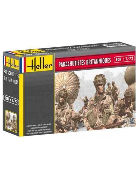 paracaidistas BRITANICOS , Escala , Escala 1/72  fabricante Heller  fabricante Heller