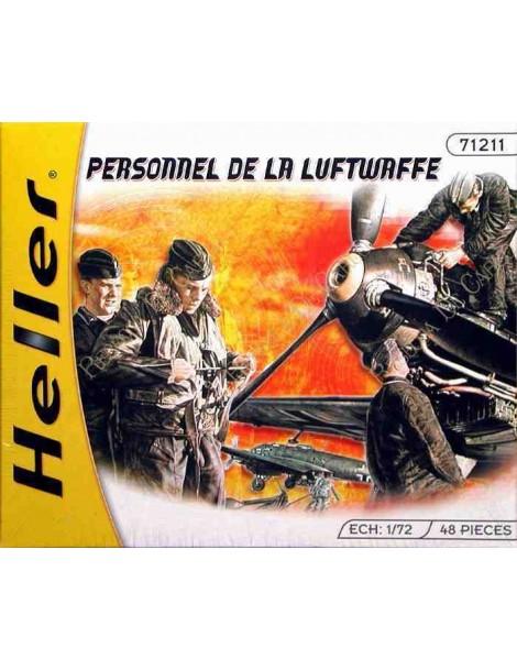 PERSONAL LUFTWAFFE , Escala , Escala 1/72  fabricante Heller  fabricante Heller