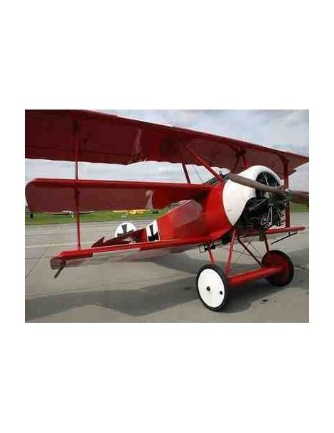Planos Avión FOKKER Dr.1