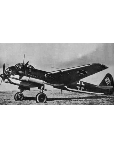 Planos Avión JUNKERS JU-88