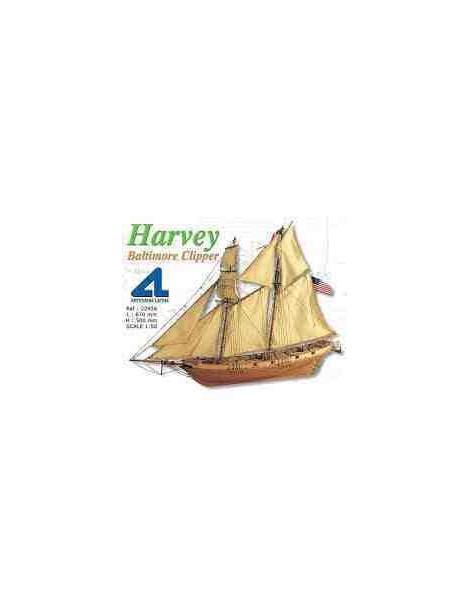 Barco Estático de Época en Madera, HARVEy, fabricante Artesanía Latina