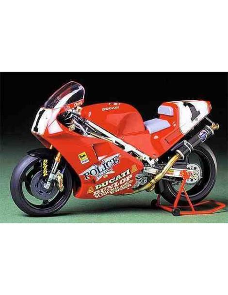 Moto Estática Ducati 888 Superbike , Escala 1/12  fabricante Tamiya