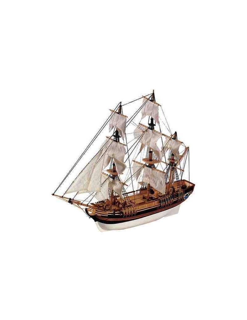 Barco Estático de Época en Madera, HMS BOUNTY, fabricante Constructo