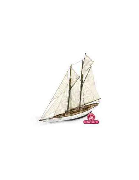 Barco Estático de Época en Madera, ALTAIR, fabricante Constructo