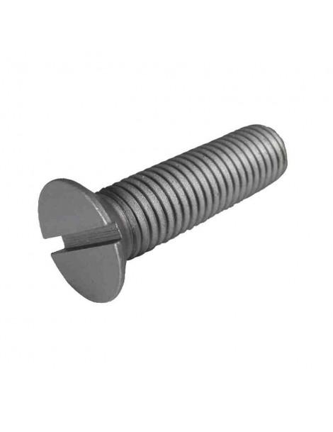 Tornillo Avellanado Plano  en Acero Inoxidable   Metrica 4      Longitud    5 mm  (10 unidades)
