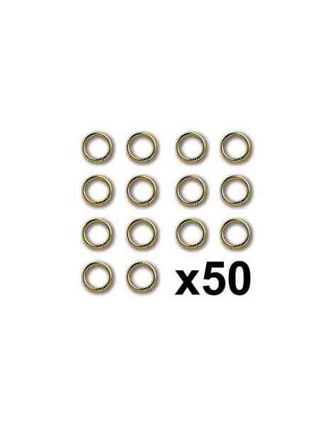 ANILLA DE LATON 3X0,4mm 50 unids.