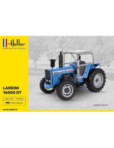 Tractor Estático LANDINI 16000 DT , Escala 1/24  fabricante Heller